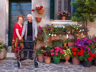 Permalink to: Blühende Meisterwerke: Balkone, Straßengärten und Altane
